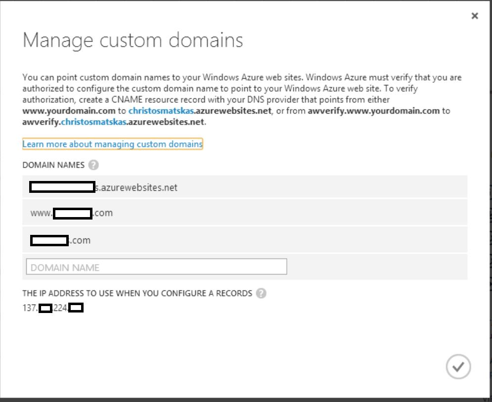 Configure Custom Domains