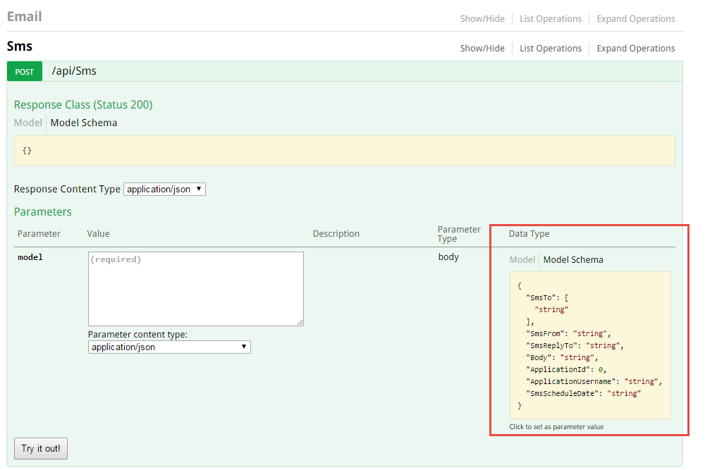 WebApi documentation done right with Swagger