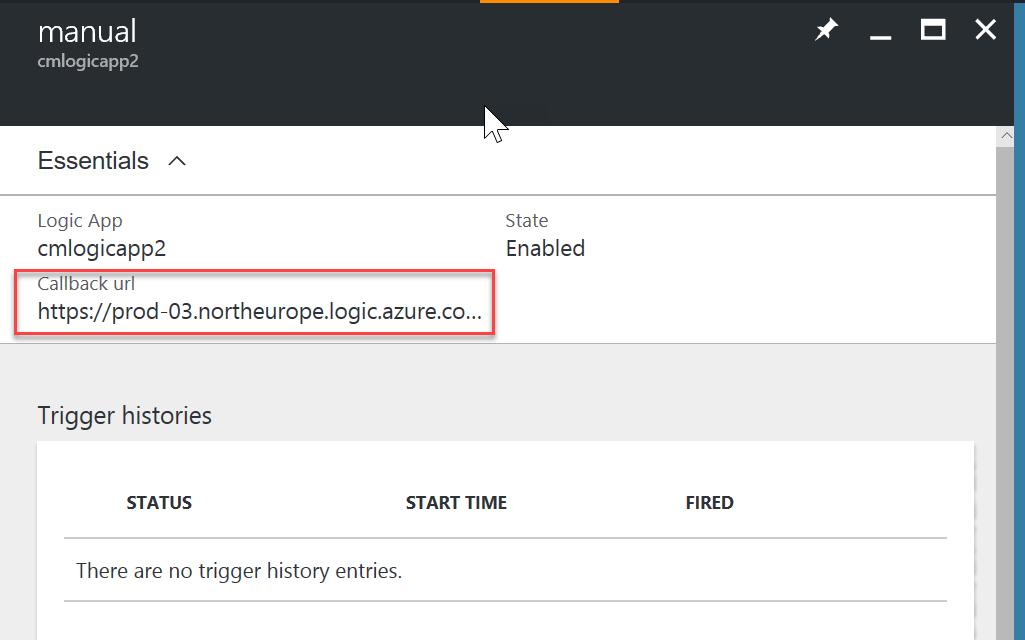 Invoke Azure LogicApp over HTTPS with HTTP triggers